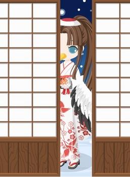 +絵本の国の鶴の着物2.jpg