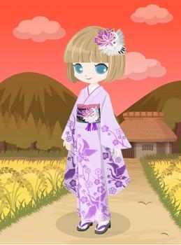 +絵本の国の鶴の着物5.jpg